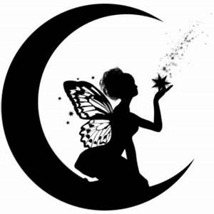 Catch A Falling Star Tattoo Fairy Silhouette Art | Tats ...