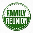 Family reunion sign or stamp — Stock Vector © roxanabalint ...