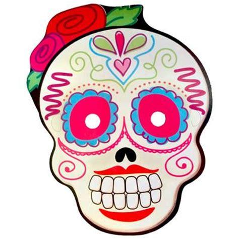 Mascara de Calaverita Femenina Flor Fun & More