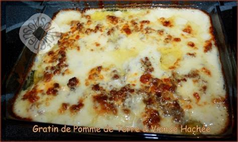 gratin de pomme de terre viande hach 233 e cuisine marocaine et internationale de sousoukitchen