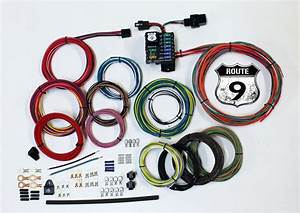 American Autowire U0026 39 S Route 9 Universal Wiring System