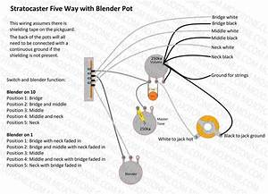 Stratocaster Blender Wiring Diagram In 2019