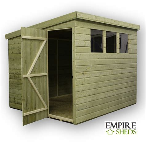 6 X 8 Pent Shed Plans by How To Build A 9x6 Shed Nomis