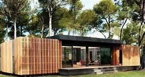 Maison Pop House : pop up house la maison en kit design de demain ~ Melissatoandfro.com Idées de Décoration