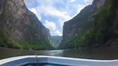 Chiapas 02 Cañon del Sumidero recorrido hasta la Presa de ...