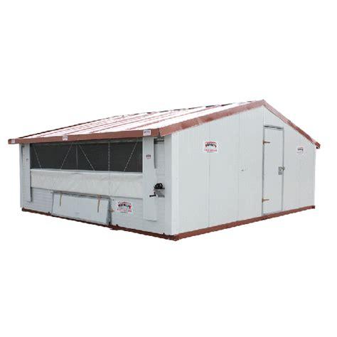 construire une chambre froide beiser environnement poulailler ou bâtiment mobile pour