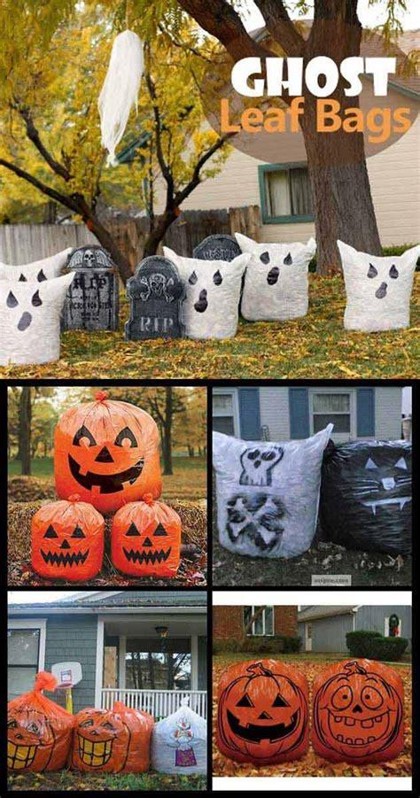top  ideas turn trash bags  creepy halloween