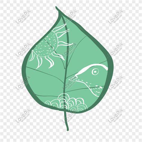 lukisan daun hijau cikimmcom