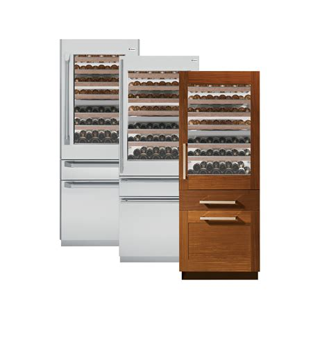 monogram  fully integrated wine refrigerator ziwgnzii ge appliances