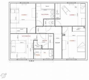 plan maison 120m2 recherche google plan house With plan de maison 120m2 6 plan de maison individuelle plain pied