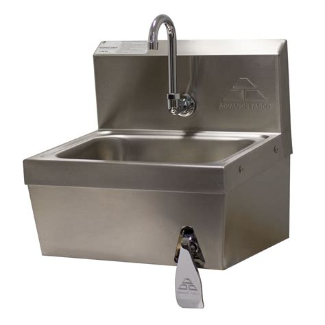 advance tabco wall mounted sink advance tabco 7 ps 62 wall mount commercial sink w