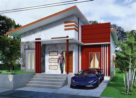 ide  warna cat rumah sederhana terbaru