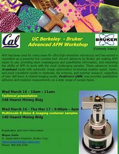 Uc Berkeley Afm Workshop  Wednesday March 16  2011
