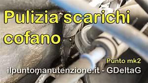 Pulizia Scarichi Cofano Punto Mk2