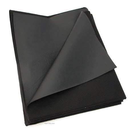 texhide black vinyl motorcycle seat cover fabric matte