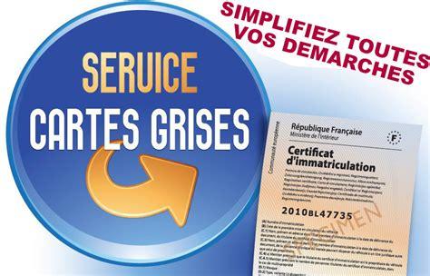 démarches de carte grise en préfecture retrouvez votre service immatriculation et formalités carte grise royal