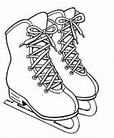 Skates Coloring Ice Skate Skating Hockey Pages Winter Printable Figure Snow Adult Advertisement Curling Getcolorings Getdrawings Coloringpagebook Speed sketch template