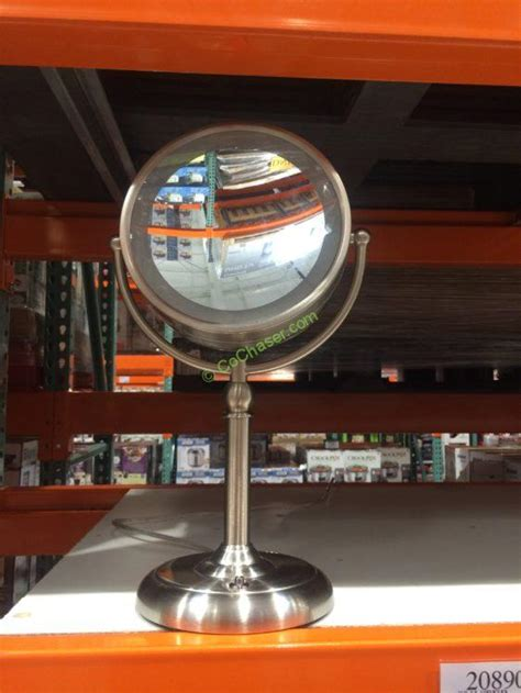 costco lighted mirror sunter led vanity mirror costcochaser
