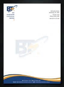 letterhead design professional serious letterhead design design for bronwyn tyrell a company in australia