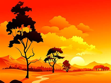 20+ Landscape Illustrations   Free & Premium Templates