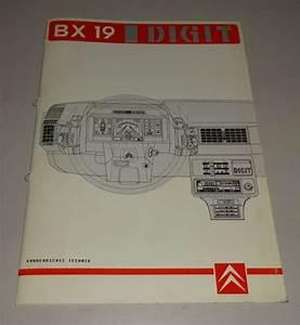 Workshop Manual  Technical Info    Training Citroen Bx 19