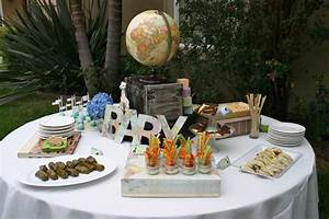 Around the World Baby Shower - Baby Shower Ideas - Themes