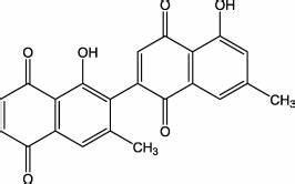 Chemical structure of Diospyrin. | Download Scientific Diagram