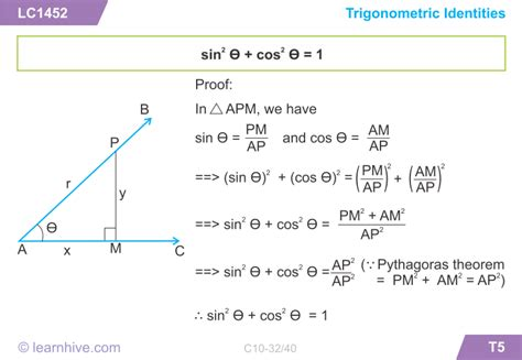 learnhive cbse grade 10 mathematics trigonometry lessons exercises and practice tests