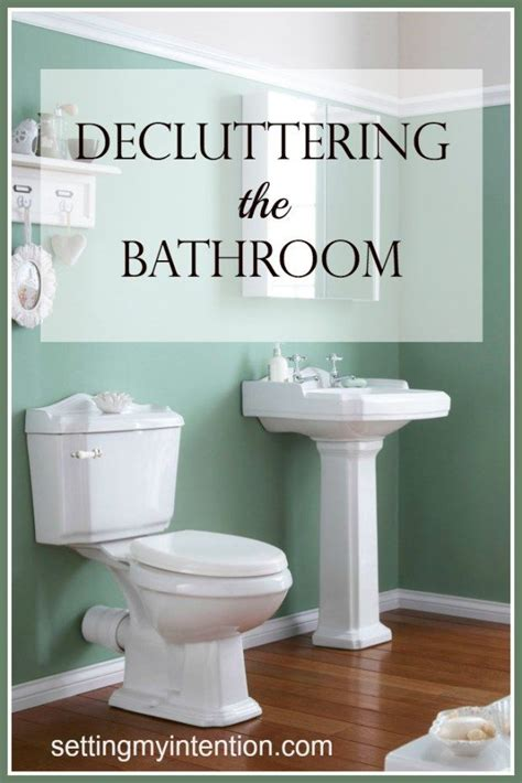 Decluttering The Bathroom  The O'jays, Photos And Photos Of