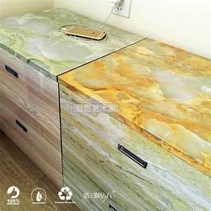 Buy Marble Waterproof Vinyl Self adhesive Wallpaper ...