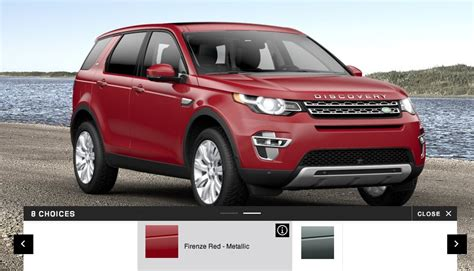 Land Rover Discovery Sport Colors, Interior And Wheel Option