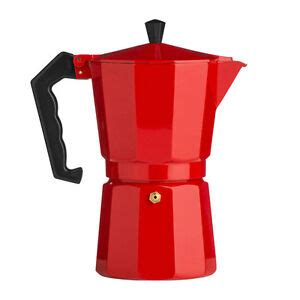 Bialetti venus 6968 italian quick heating induction kitchen stove top 4 cup espresso coffee maker, stainless steel. New Italian 6 Cup Red Aluminium Espresso Maker Stove Top Coffee Machine Moka Pot | eBay
