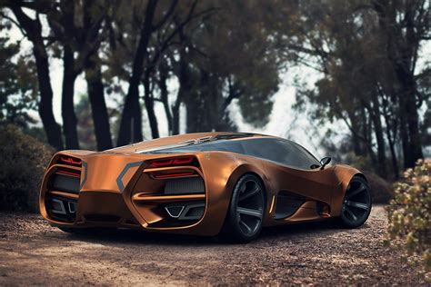 Introducing The Futuristic-looking Lada Raven …a Supercar