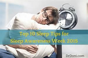 Top 10 Sleep Tips for Sleep Awareness Week 2015