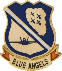 Blue Angels Crest Lapel Pin