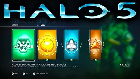 Daily Req Packs Added To Halo 5 Evil Controllers