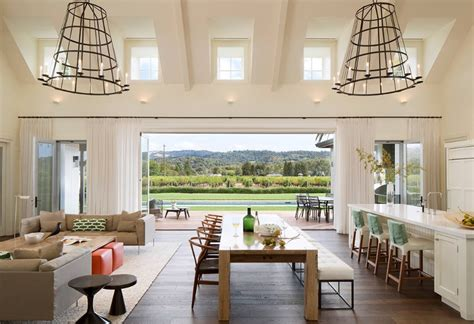 Make Large Living Space by How To Effectively Design An Open Concept Space