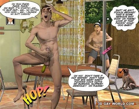 Cuming Out American Style 3d Gay Anime Comics Nude Anal