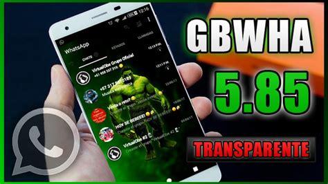instalar gbwhatsapp gratis en tu android diciembre 2017 apk