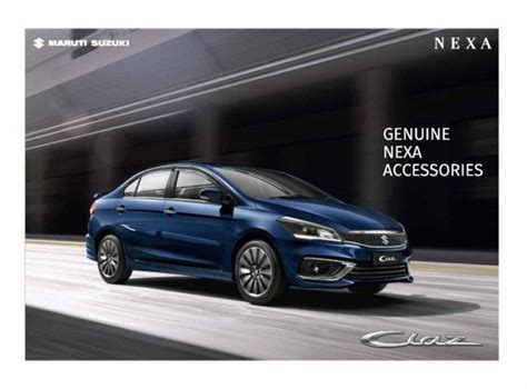 Get some inspiration and see which styling mods are best suited to your car and we review the pros and cons of popular car interior styling mods. 2018 Maruti Suzuki Ciaz Accessories Unveiled With Host Of New Items