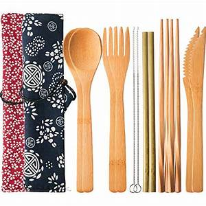 Was Passt Zu Bambus : bambus besteck set mit tasche nachhaltig und unbehandelt ~ Watch28wear.com Haus und Dekorationen
