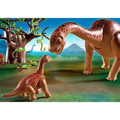 Playmobil Brachiosaurus with Baby Playset