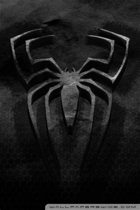 spiderman logo wallpaper mobile gallery