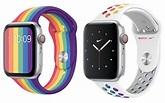 Apple Watch 季度更新 首次推出彩虹膠錶帶Apple Watch 季度更新 首次推出彩虹膠錶帶 - PCM