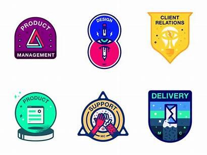 Badges Department Dribbble Monday Again