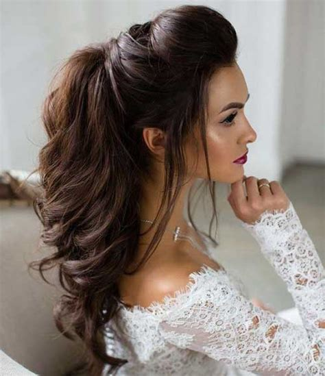Half Updo Styles All the Stylish Ladies Should See   Long