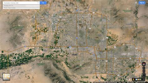 Goodyear Arizona Map