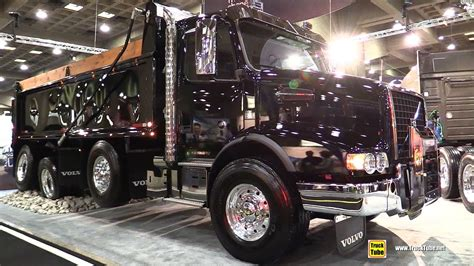 volvo vhdb  dump truck   hp engine