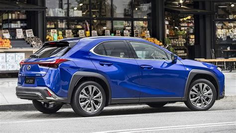 lexus ux  review snapshot carsguide