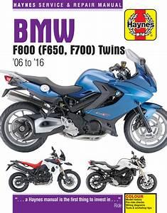 Bmw F650  F700  U0026 F800 Twins Haynes Repair Manual  2006
